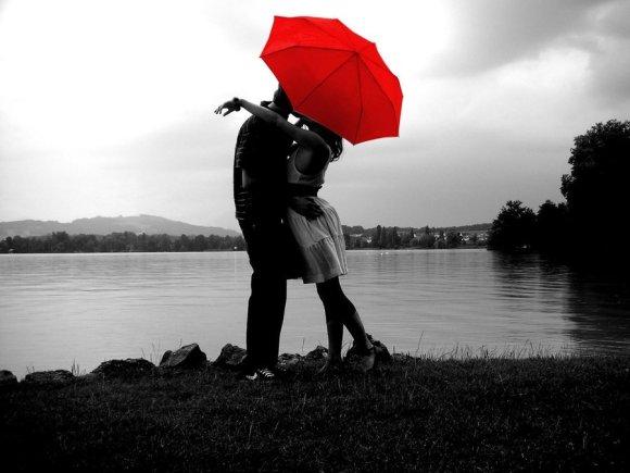 Umbrella-kiss